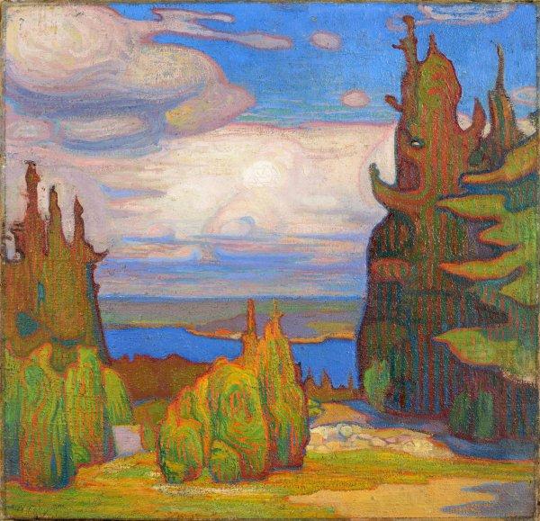Le réveil des peintres baltes