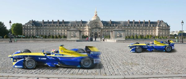 Courses de formule E, Paris Invalides