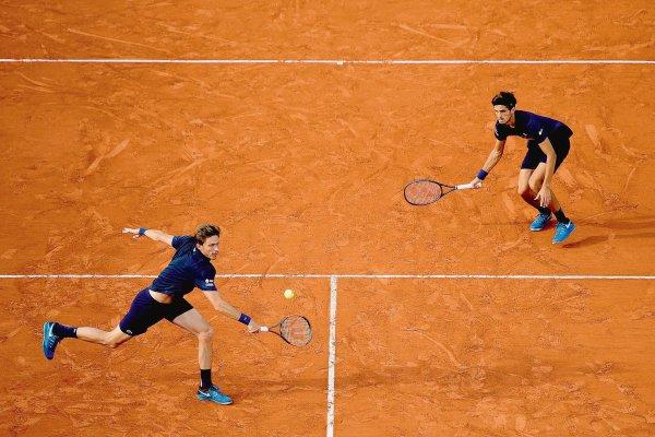 l'image 10 juin 2018 Finale du  double messieurs de Roland Garros