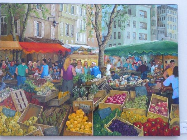 Expo à l'orangerie du jardin du Luxembourg