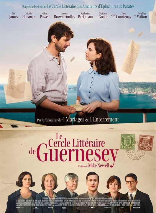Le cercle litéraire de Guernesey *** de Mike Newell  Film britannique, 2 h 03