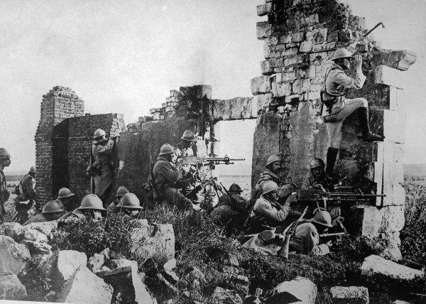 Il y a cent ans se jouait l'issue de la Grande Guerre