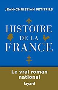 Jean-Christian Petitfils Histoire de la France fayard