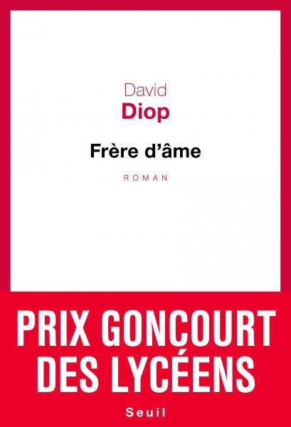 David Diop  frère d'âme édition du Seuil