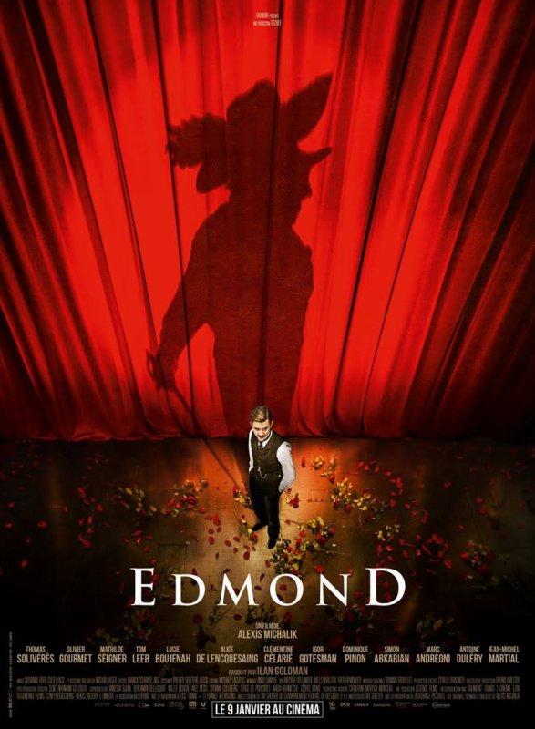 Edmond d'Alexis Michalik film français *** 1h 45 et théâtre au Théâtre du Palais-Royal