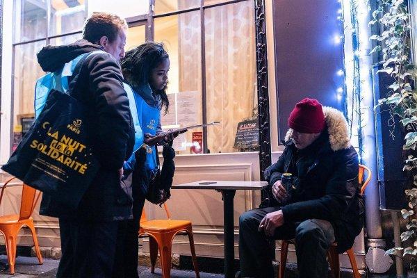 A la recherche des sans-abri du métro