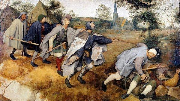 La Parabole des aveugles, Pieter Brueghel
