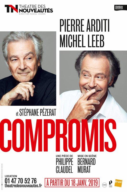 Compromis, de Philippe Claudel.au théâtre des nouveautés