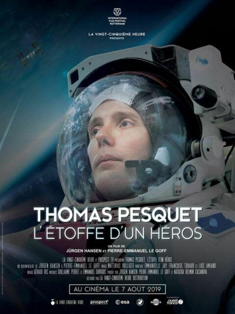 Thomas Pesquet, l'étoffe d'un héros **  de Jürgen Hansen et Pierre-Emmanuel Le Goff  Documentaire français, 1 h 12