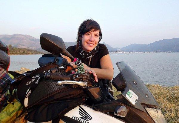 Mélusine Mallender, la liberté par la moto