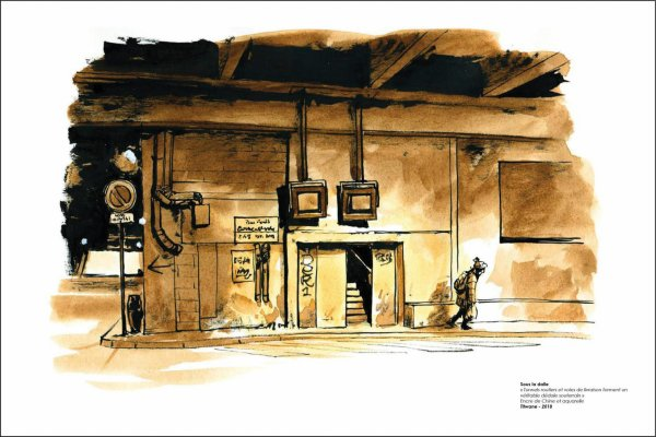 Les dessins de Titwane pour « La Croix » exposés à la Défense