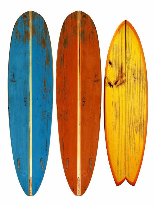 Sport -   Donner sa planche de surf