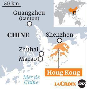 Répression violente à Hong Kong
