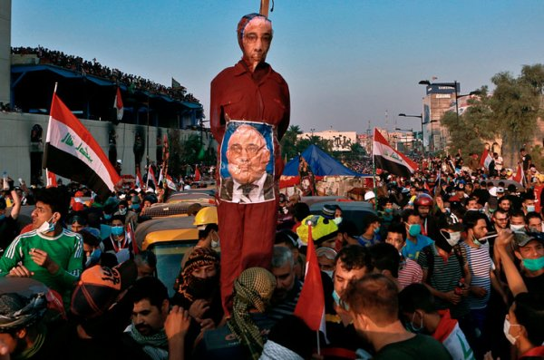 En Irak, des manifestants déterminés malgré la répression