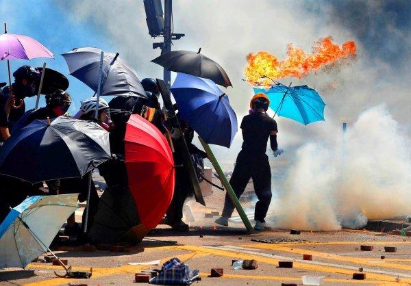 «Je suis montée sur les barricades de Hong Kong»