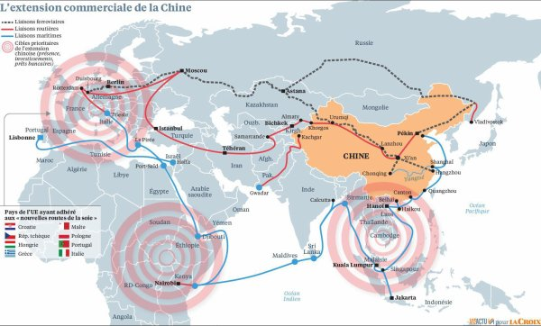 Comment la Chine achète le monde
