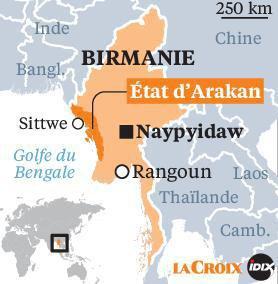 Génocide des Rohingyas, Aung San Suu Kyi en première ligne
