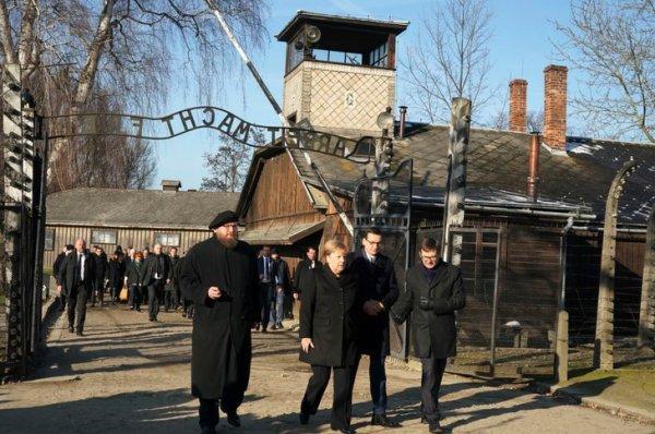 Auschwitz, symbole de l'Holocauste