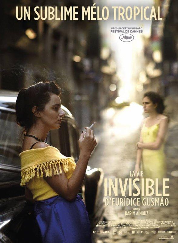 La Vie invisible d'Euridice Gusmão ***  de Karim Aïnouz  film brésilien