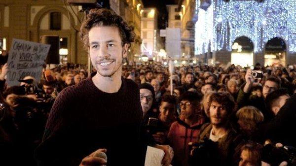 Les « Sardines» en fête à Rome contre Salvini