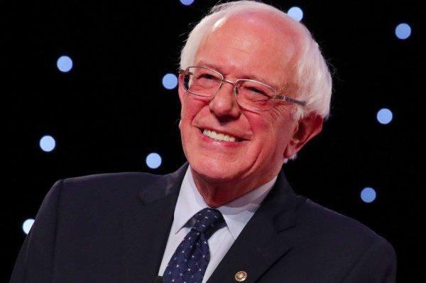 Pete Buttigieg. - Bernie Sanders