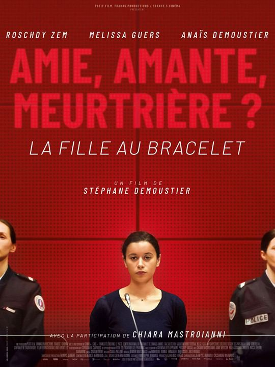 La Fille au bracelet***  de Stéphane Demoustier  Film français, 1h36