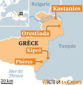Grèce-Turquie, une frontière en ébullition