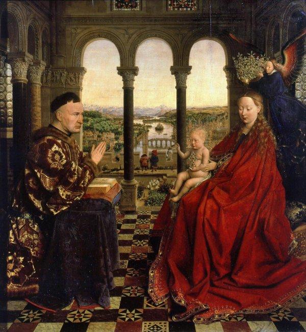 Contempler Jan Van Eyck L'infiniment petit à côté de l'infiniment grand