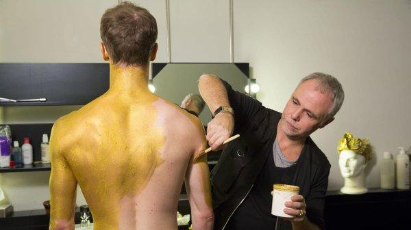 Le maquillage de l'Idole dorée dans La Bayadère