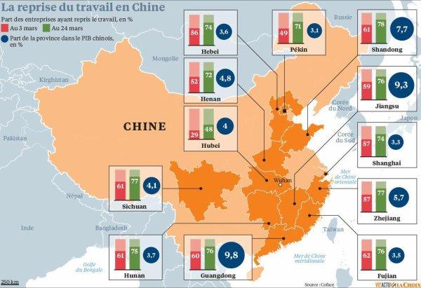 Chine : Une lente reprise dans la crainte d'une nouvelle vague épidémique