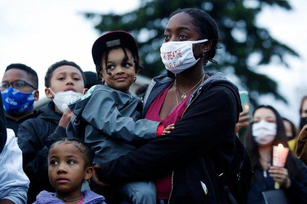Les familles afro-américaines face à la mort de George Floyd