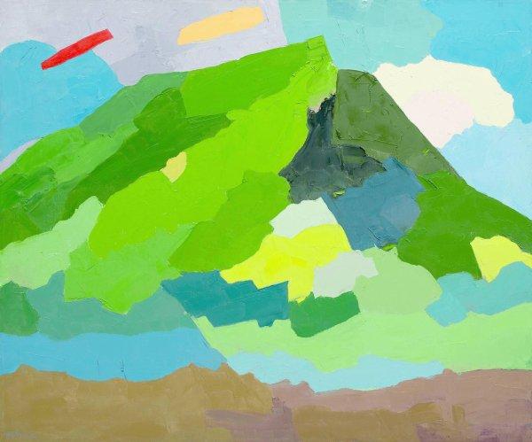 Contempler.  Etel Adnan Oui, la montagne existe!