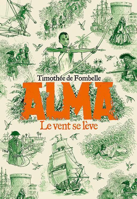 Livre jeunesse Alma, le souffle du grand large
