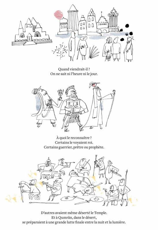 Récit graphique Jésus, l'histoire d'une Parole
