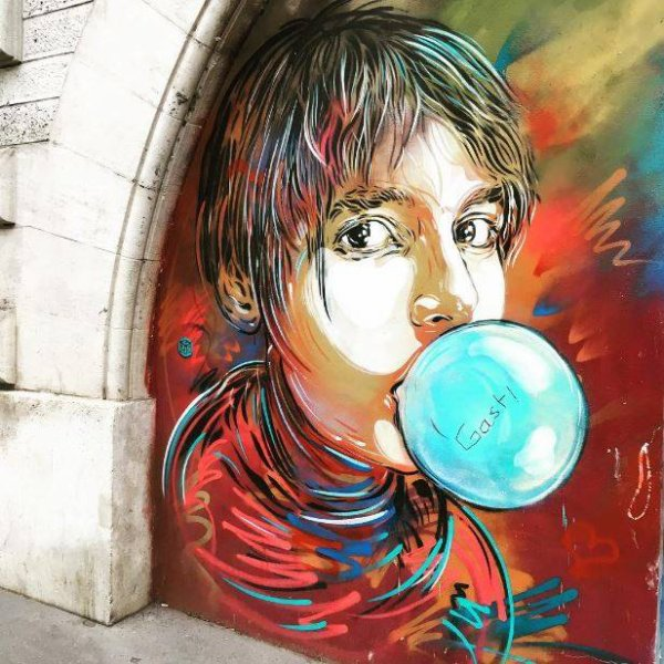 street-art Paris quartier de la bute aux cailles