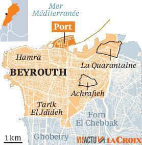 Le port de Beyrouth, c½ur économique du Liban  Antoine d'Abbundo