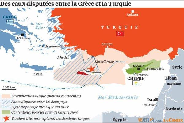 Turquie-Grèce, avis de tempête en Méditerranée