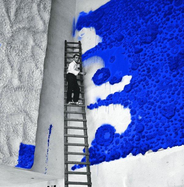 Dans la constellation d'Yves Klein.   Expo