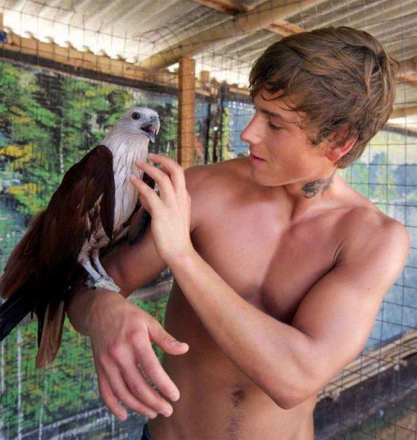 Le jeune  fauconnier