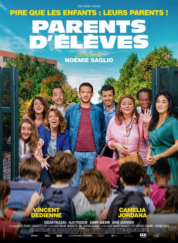 Parents d'élèves**  de Noémie Saglio  film français, 1 h 29