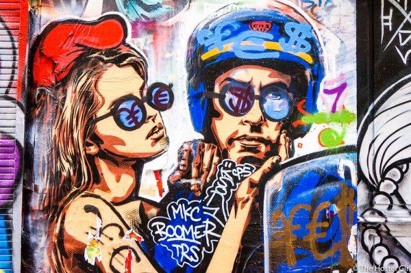 Street art à Belleville Ménilemontant