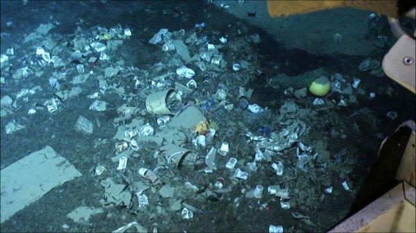 La pollution plastique souille des océans