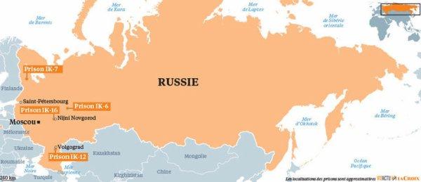 Reportage - Dans les camps de Poutine, enquête sur les colonies pénitentiaires russes