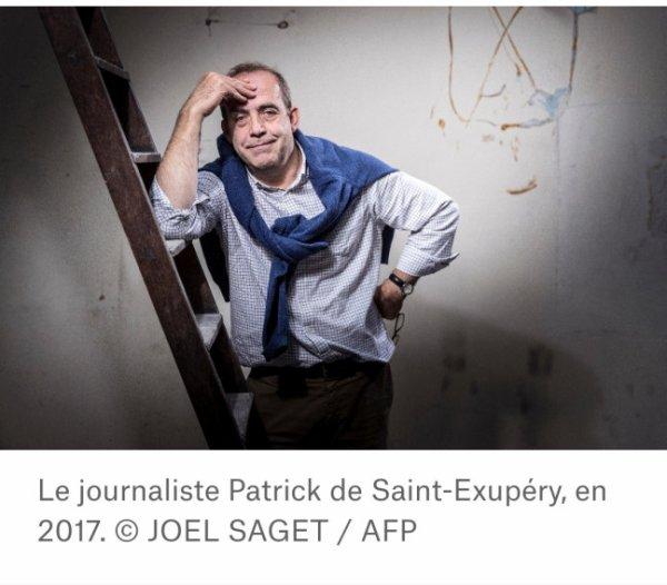Patrick de Saint Exupéry La traversée