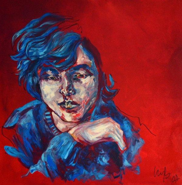 Mary J Blige artiste peintre