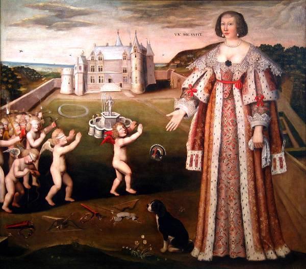 Pierre Mignard Marguerite et les amours musée de Cherbourg