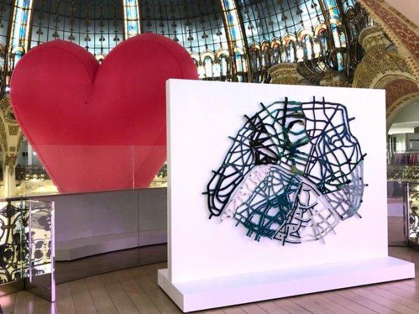 """""""Paris mon amour"""" Galeries Lafayette"""