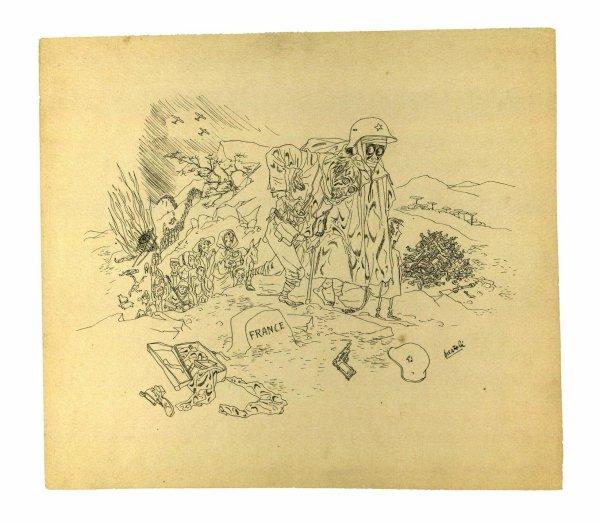Le dessin, arme de la guerre d'Espagne et témoin de l'exil