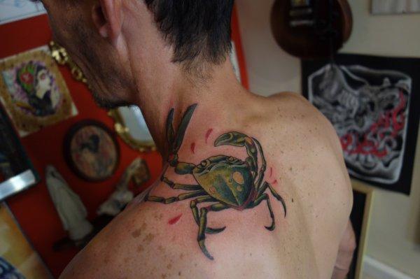 crabe old school