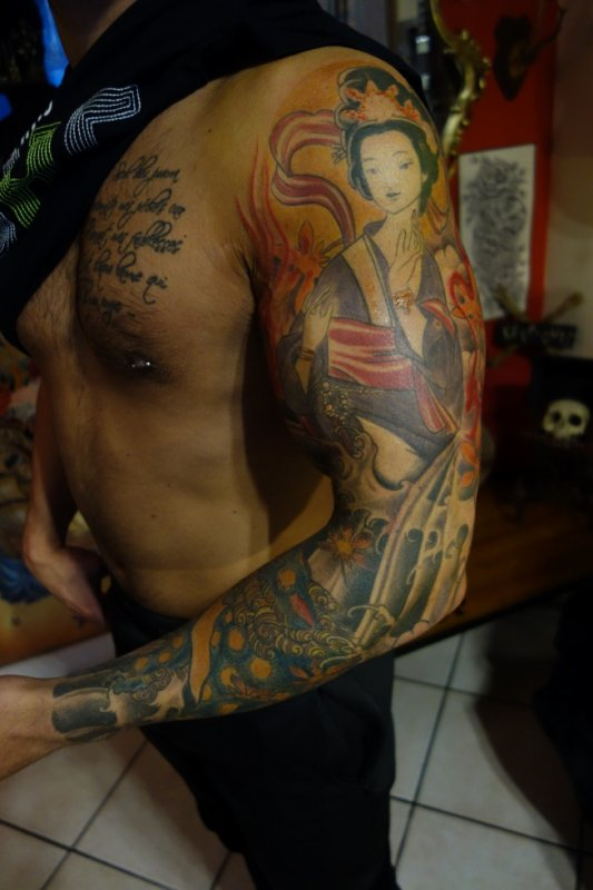 bras japonais de jody